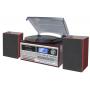 Roadstar HIF-8892EBT FM radio met platen-, cassette- en CDspeler
